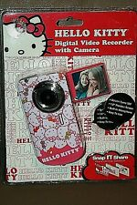 HELLO KITTY DIGITAL VIDEO RECORDER WITH CAMERA SNAP N SHARE PHOTO EDIITING