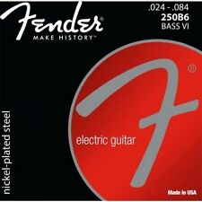 Fender Bass VI Strings 250B6 Nickel Roundwound .024-.084 Six String 073-0250-413