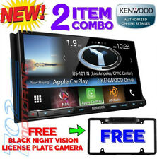 KENWOOD EXCELON DNX893S APPLE CAR PLAY / ANDROID AUTO / GPS + FREE BLACK CAMERA