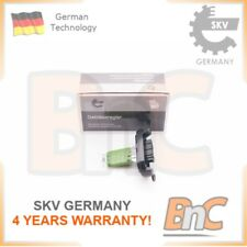 INTERIOR BLOWER RESISTOR VW OEM 7E0959263C SKV GERMANY GENUINE HEAVY DUTY