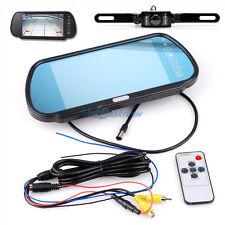 """7""""Car TFT Digital LCD Monitor Mirror W/ Car Rear View Parking Backup Camera Kit#"""