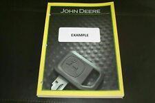 John Deere 7520 Tractor Parts Catalog Manual