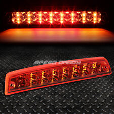 [2-ROW LED]FOR 94-02 RAM TRUCK THIRD 3RD TAIL BRAKE LIGHT STOP CARGO LAMP RED
