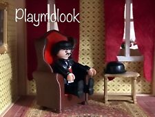 SOFA SILLON SALON MINIATURE CASA MANSION VICTORIANO PLAYMOBIL CUSTOM