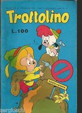 TROTTOLINO # 11 - NOVEMBRE 1966  - RARO- EDIZIONE BIANCONI  - CO1