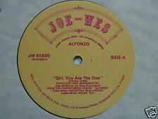 ALFONZO GIRL, YOU ARE THE ONE BOOGIE 12INCH SINGLE 33RP