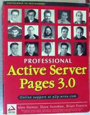 PROFESSIONAL ACTIVE SERVER PAGES 3.0 - WROX 1999 - 1277 PÁGINAS - EN INGLÉS