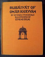 Khayyam  Fitzgerald RUBAIYAT- 1933 Illustrated by Edmund Dulac