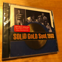 TIME LIFE MUSIC Solid Gold Soul 1968 CD - BRAND NEW & FACTORY SEALED - RARE !!!