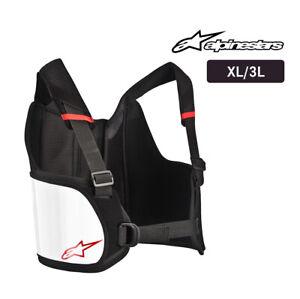 Go Kart - ALPINESTARS Bionic Rib Support - Black/White - XL/3XL