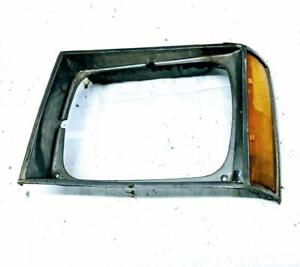 1987-1990 Chevrolet S10 GMC S15 LH Driver Headlight Bezel and Reflector OEM