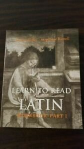 Learn to Read Latin Workbook, Part 1 - Paperback By Keller, Andrew - VERY GOOD