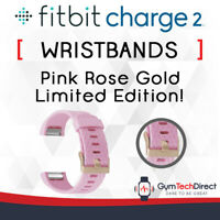 Fitbit Charge 2 Pink Rose Gold Replacement Wristband Accessory!