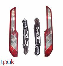 PAIR OF TRANSIT MK8 CUSTOM REAR LIGHTS BULBS & HOLDER LAMP RIGHT LEFT NEAR OFF