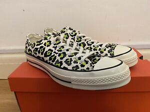Converse 1970s Chuck Taylor - Leopard/Animal Print - UK10 - RRP £70 New In Box