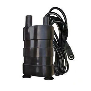 DC 12V Micro Submersible Pump Electric Pumping Diesel pump Bottom Suction Pump