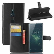 Fits SONY XPERIA XZ2 PU Leather Flip Case Cover Wallet Holder Book Side Open
