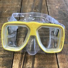 New listing Genesis RX Dive Mask - Yellow - Great for Scuba and Snorkeling