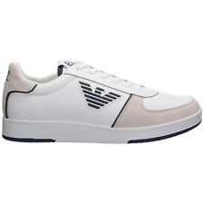 Emporio Armani EA7 sneakers men X8X073XK176N091 logo detail Pelle shoes