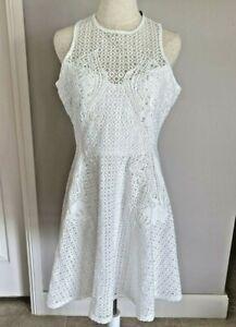 Caroline Morgan - White Lace Dress - Size 14 BNWT