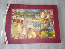 2002 Hallmark - Memories of an American Girl - Memory Book (Unused)