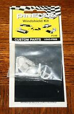 PineCar Pinewood Derby P348 5 Piece Windshield Kit NEW SEALED