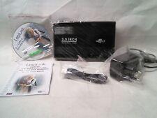 "FESTPLATTENGEHÄUSE 3,5"" IDE Hard Disk Drive Gehäuse USB2.0 HQ Aluminium Case"