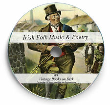 Rare Books on DVD - Ancient Irish Folk Music Traditional Songs Poetry Ireland F3