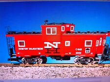 Usa Trains 12107 G Scale New Haven Extended Vision Caboose Socony Red/Black