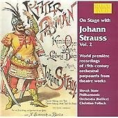 Johann II Strauss - On Stage with Johann Strauss, Vol. 2 (1999) - CD - VG