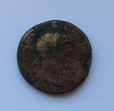 SUBSTANTIAL ANCIENT ROMAN BRONZE COIN OF EMPEROR TRAJAN /98-117 AD/ 25 Grams