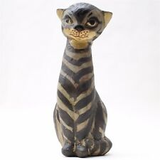 "Ceramic Sculpture by Thelma Frazier Winter ""Cat"" made in United States"