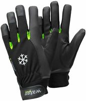 Mens Ladies Thermal Waterproof  Lined Yard Gloves Winter Horse Riding Equestrian