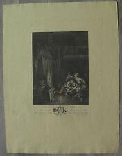 De Launay gravure XVIIIème aquarellée engraving etching stampa radierung grabado