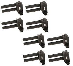 Set of 8 Denso Direct Ignition Coils for Chrysler 300 Dodge Durango Jeep Ram V8