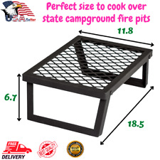 Heavy Duty Portable Camping Stove Outdoor Cooking Camp Fire Grill Picnic Cooker