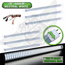 "6 x LED T8 Tube Replacement Light 18"" NW 600 LUMEN RV Marine 8-30v 12v"