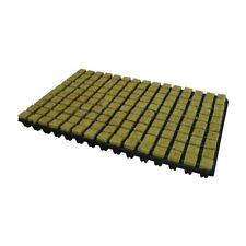 25 mm Rockwool Plateau de 150 Boîte de 18 xtrays Propagation Hydroponique Grow Cubes