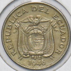 Ecuador 1946 5 Centavos 195196 combine shipping