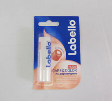Labello CARE & Color - NUDE lip balm/ chapstick -1 pack - Made in Germany