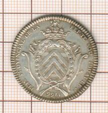 joli jeton argent Louis XV la ferté sous Jouarre prix provincial 1766
