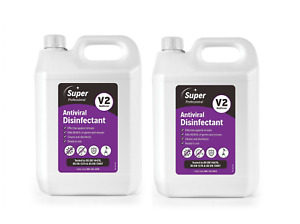 Anviral Disinfectant Surface Cleaner Kills 99.99% viruses Multi-Pack 2 x 5Litre