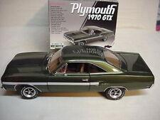 1:18 GMP - 1970 Plymouth GTX 426 HEMI IVY VERDE RAREZA