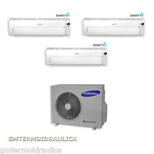 Climatizzatore Trial Split Samsung Inverter AR7000M Wi-Fi 9000+9000+12000 AJ052