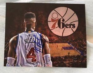 Nerlens Noel Signed 8x10 Philadelphia 76ers Photo