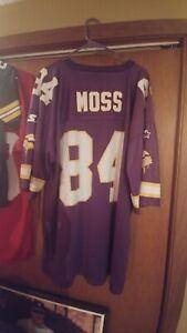 NWOT SWEET Vintage Starter Minnesota Vikings Randy Moss Men's Jersey 54 2X  🏈🔥
