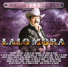 New: Lalo Mora: La Historia  Audio CD