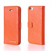 HOCO BOROFONE Retro Fashion leathe case for APPLE iphone 5/5s/SE ORANGE H273