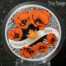2021 Lest We Forget - A Wreath of Remembrance $20 Pure Silver Proof Coin Canada