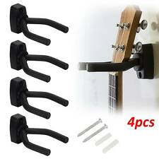 4X Percha de guitarra ajustable soporte de pantalla montado en la pared gancho